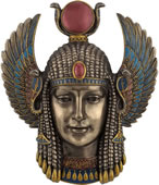 Art Deco Egyptian Goddess Wall Plaque