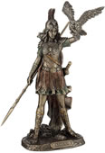 Athena Statue- Greek Goddess Of Wisdom and War