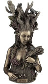 Gaia Statue- Greek Primordial Goddess Of Earth
