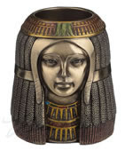 Egyptian Maiden Candle Holder