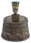 Bust Of Nefertiti Egyptian Trinket Box