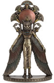 Winged Sekhmet Wall Plaque