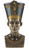 Queen Nefertiti Bust/Trinket Box