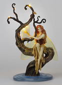 Firefly's Song Fairy Statue by Salina Fenech