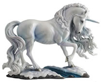 Pure Spirit Unicorn Statue by Luna Lakota