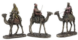 Three Kings Statues, Set of 3