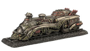 Steampunk Train Pioneer Zephyr