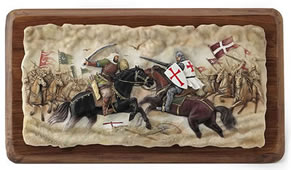 Battle Of Hattin Wall Plaque