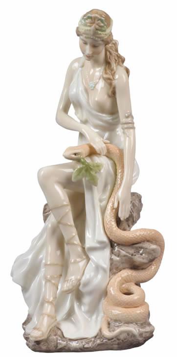 Hygeia Greek Goddess Sculpture Greek Roman Sculptures
