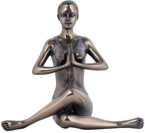 yoga cow pose sculpture stuhome aawu73081a4