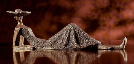 Summer Days- Lounging Lady Statue