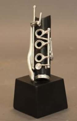Clarinet Sculpture