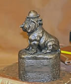 Winston Bulldog Sculpture Box