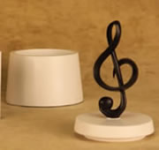 Treble Clef Music Note Box