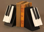 Piano Keys Bookends