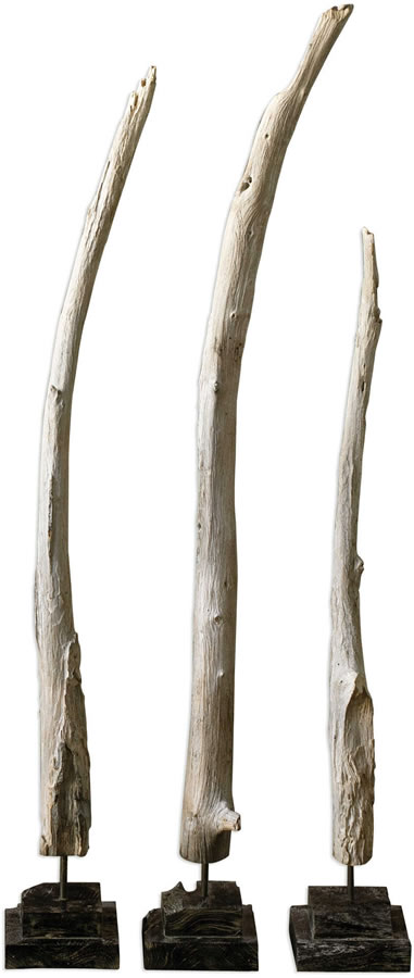 Teak Branches, Set of 3