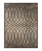 Kanza Antique Bronze Metal Wall Art Panel