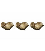 Tamarine Wood Wall Art, Set of 3