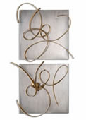 Harmony Metal Wall Art, Set of 2