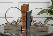 Lounging Reader Bookends, Set of 2