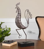 Wake Up Call, Contemporary Rooster Statue