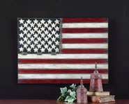 Stars and Stripes Flag Wall Sculpture