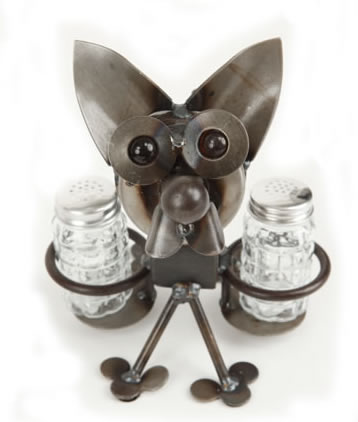 Chihuahua Salt and Pepper Holder