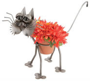 Whiskers the Cat Flower Pot Holder