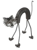Scaredy Cat Sculpture